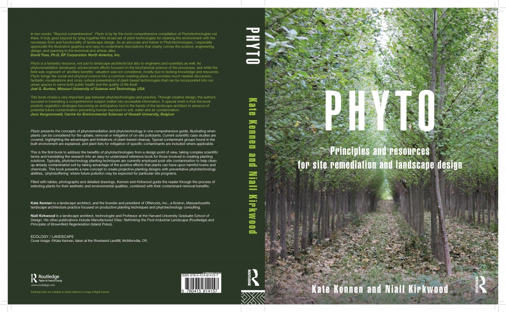 PHYTO- book cover jacket